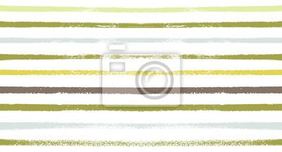 Posters Modèle de vecteur transparente rayures marin d'été. Automne Couleurs Textile Bleu, Vert, Blanc, Violet, Marron, Impression grise. Hipster Vintage Retro Stripes Design. Bannière horizontale créative. I