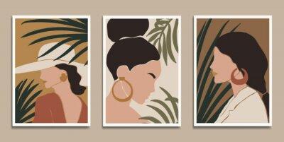 Posters Modern art prints in boho style. Eps10 vector.