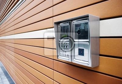 Moderne porte Intercom