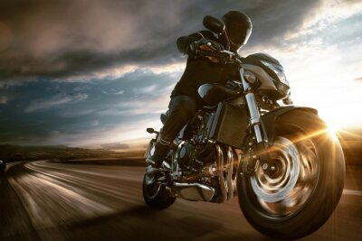 Posters Moto rapide