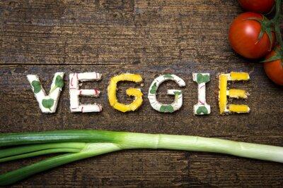 Posters Moutarde végétalisée à base de fruits et de légumes Broten mit Tomaten und Frü