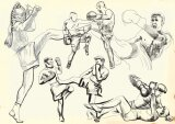 Posters dessins mur aux dimensions page 2 - Femme de chambre code rome ...