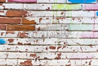 Posters Mur Old remplissage de graffitis