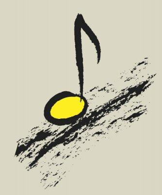 Posters Musique, concept, musical, note, conception, logo