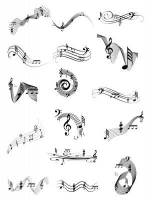 Posters Musique tourbillon ensemble