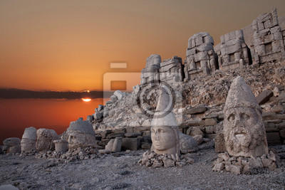 Posters nemrut mountain ancient city in south east turkey