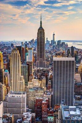Posters New York City au crépuscule