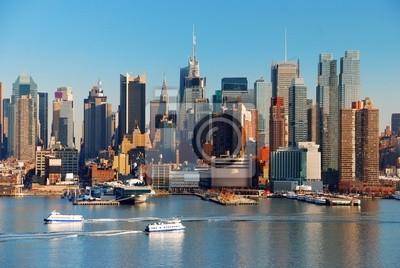 NEW YORK CITY AVEC GRATTE-CIEL