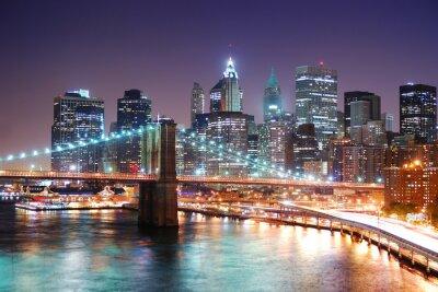 New York City Manhattan et Brooklyn Bridge