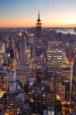 New York City Manhattan renforcement de l'État de l'empire
