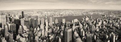 New York City Manhattan vue panoramique aérienne