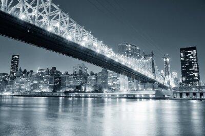 New York City nuit panorama