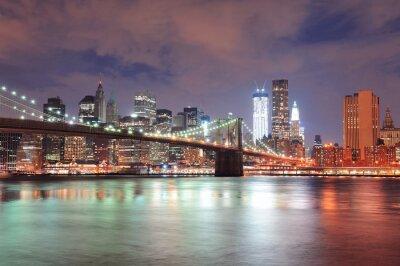 Posters New York City Pont de Brooklyn
