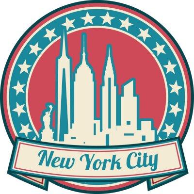 Posters New York City skyline