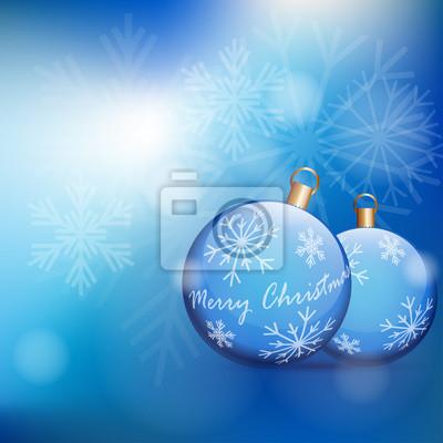 niebieska kartka bożonarodzeniowa