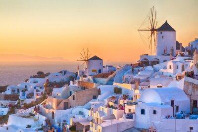 Posters Oia Sunset, l'île de Santorin, en Grèce