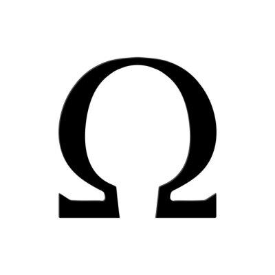 Posters Omega Symbole