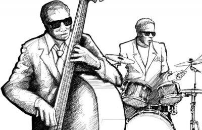 Posters orchestre de jazz