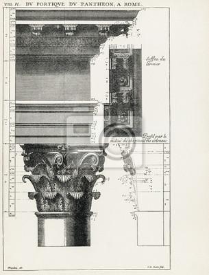Posters Panthéon de Rome VIII