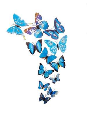 Posters Papillons autocollants muraux
