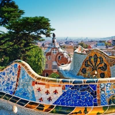 Parc Guell, Barcelone - Espagne