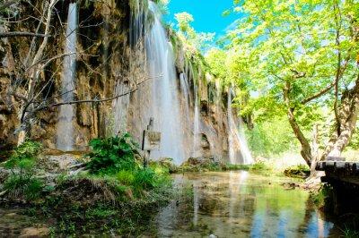Posters Parc national des lacs de Plitvice en Croatie