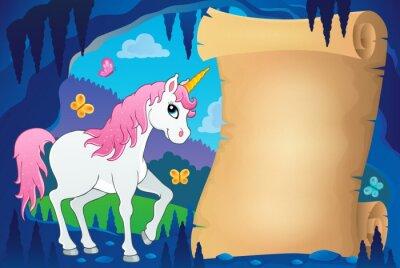 Posters Parchemin dans l'image de la grotte de conte de fées 7