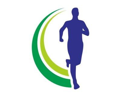 Posters parcours de santé logo