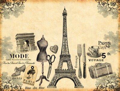 Posters Paris Historique