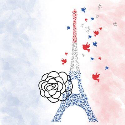 Posters Paris Tour Eiffel