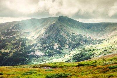 Posters Paysage de montagne en été