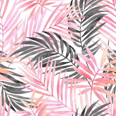 ff6a6495955 Peinture Aquarelle En Couleur Rose Et Graphique Affiches Murales