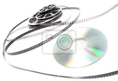 Pellicule cinéma et cd