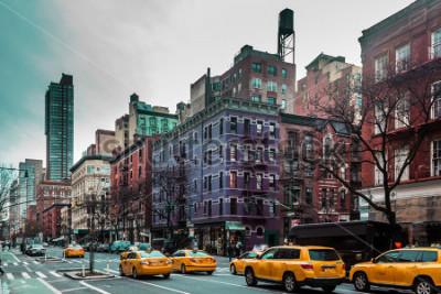Posters Photo des bâtiments et des rues de l'Upper West Site de Manhattan, à New York