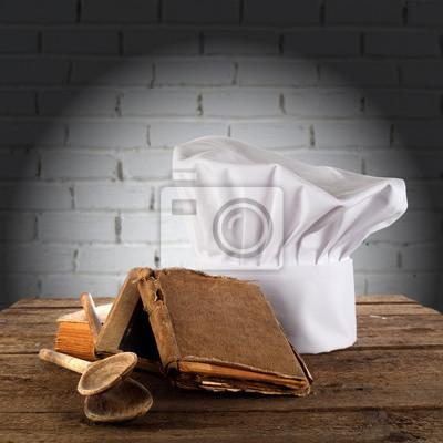 photo du chapeau chef cuisinier