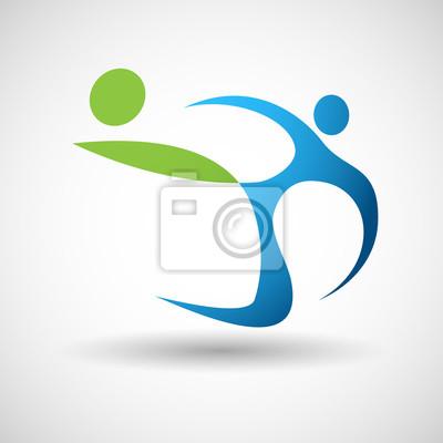Piłka nożna logo wektor