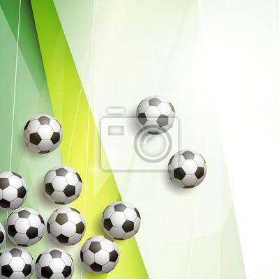 Piłka nożna tło wektor