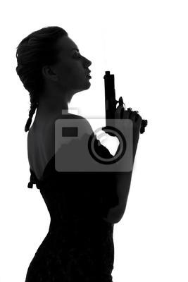 pistolet fumant