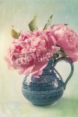 Posters Pivoine fleurs dans un vase