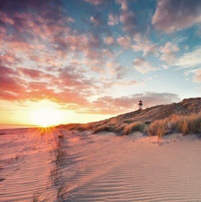 Posters Plage et les dunes sur l'île de Sylt