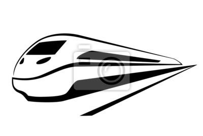 pociąg na Bialym tle