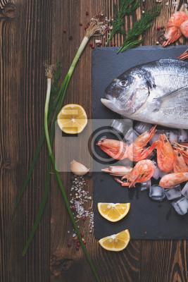 Posters Poisson de mer frais