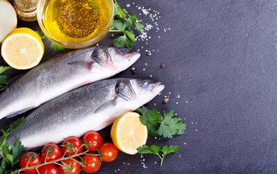 Posters Poisson frais poisson de mer