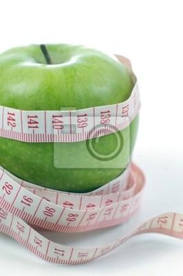 Pomme et mètre - Régime