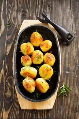 Posters Pommes de terre au romarin.