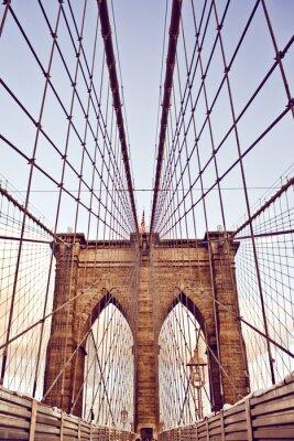Posters Pont de Brooklyn à New York