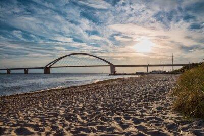 Posters Pont de Fehmarnsund à l'île de Fehmarn sur la mer Baltique