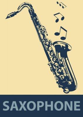 Posters Pop Saxophone