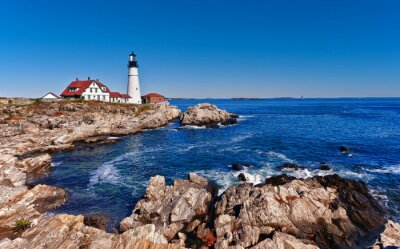 Posters Portland Head Lighthouse à Cape Elizabeth, Maine