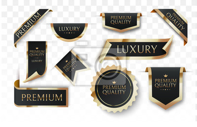 Posters Premium quality vector badges or tag